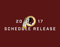 2017 Redskins Schedule Release