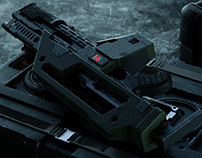 ▼▲ Once In A While Renders № 40 Alien M41A Pulse Rifle