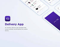 Delivery App for Android and iOS