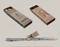 Satta - Incense Range Branding