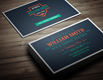 Retro Business Card V-2