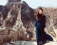 Great Wall with a Dress