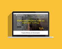 Website - Projetar Móveis