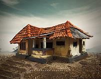 Home miniature- Quarantine time build
