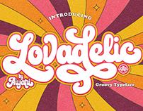 Lovadelic Groovy Typeface