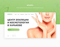 Newepil - Cosmetology website