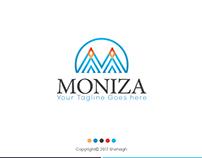 MONIZA M Letter Logo