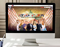 Web Design - Media Nations