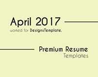 April-2017 | Premium Resume Templates