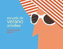 Escuela de verano artediez 2015