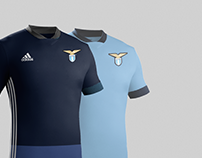 S.S. Lazio 2016-17 Adidas kit concept