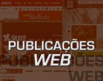 Publicações WEB