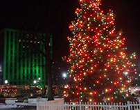 Wilkes-Barre, PA Public Square - Winter & Spring