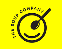 Working on the brand identity for The soup Company