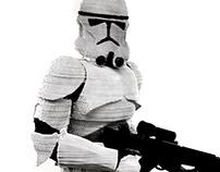 "Stormtrooper ""Laser cutting"""