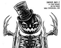 Dapper Jack 2 Halloween Drawing