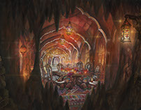 Sinbad's Cave: Concept Art for the Count of Monte Crist