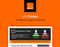 Orange SAV | Facebook Application