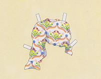 Paperdolls - Riso prints