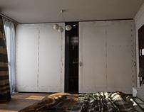 Sliding door wardrobe Unreal Engine 4