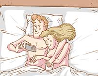 Sex selfie animation