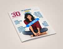 30 days Magazine design