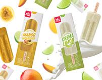 Yolobon - Icepops Packaging Design