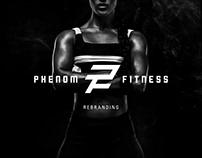 Phenom Fitness Rebranding