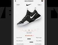 Nike Mobile UX