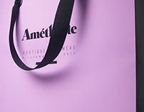 Image / Identité d'une boutique éphémère - Améthyste