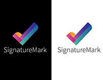 Signature Mark Logo Design 2018