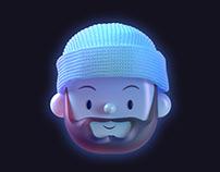 Pixar's Soul Meets Toy Faces | Self-Portrait