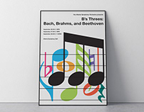Atlanta Symphony Orchestra Event Posters