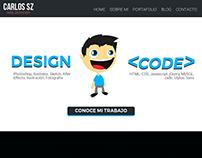 Diseño Página Personal - PSD