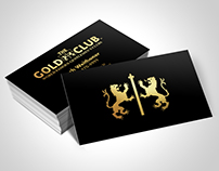 The Gold Club Business Card