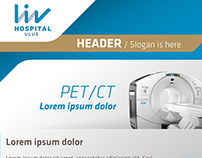 Liv Hospital Mail & Flyer Design