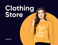 Clothing store concept