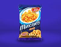 Design options for Munchies Snacks
