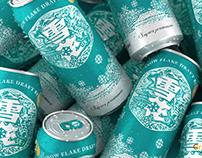 Snow Beer 雪花啤酒 马尔斯绿