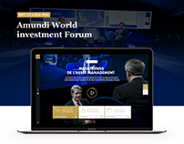 AMUNDI - World investment forum 2016