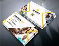 Business Card Design (FREE PSD)