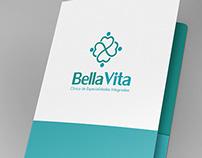 Proposta de Logotipo e papelaria para Clínica de Saúde