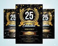 Anniversary Celebration Flyer
