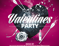 Valentines Day Party |  Flyer Collection Psd Templates