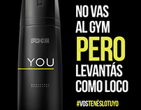 AXE YOU #VOSTENESLOTUYO