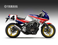 "YAMAHA FZ-09  ""EDDIE"""