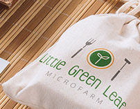 Little Green Leaf Microfarm - Logo Design