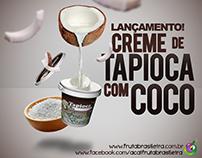 Peça promocional Açaí Fruta Brasileira