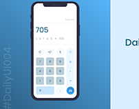 Daily UI : 004 - Calculator