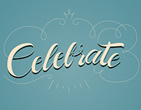 CELLEBRATE Lettering